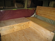 Norm bed and storage built